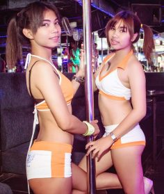 Pigtail Thai bargirls