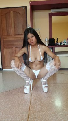 Hot and horny Thai girl