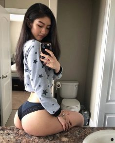sexy asian booty