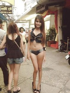 Slim Thai girl